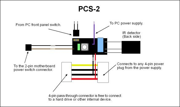 Simerec Universal Ir Remote Control Pc Power Switch